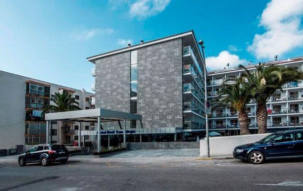 rehabilitación hotel y fachadas