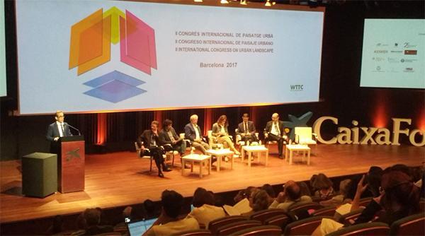 rehabilitación en el segundo congreso internacional de paisaje urbano