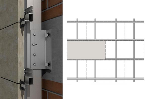 sistema para fachadas ventiladas