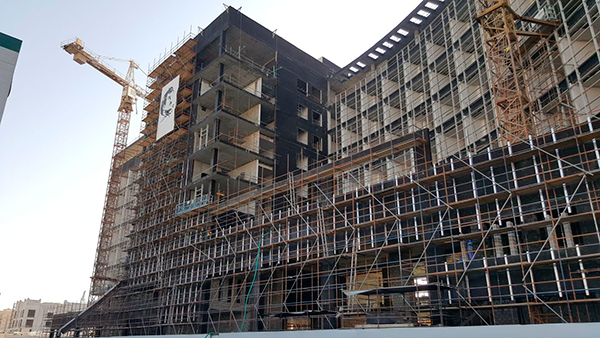 fachadas ventiladas de sistema masa dusit hotel