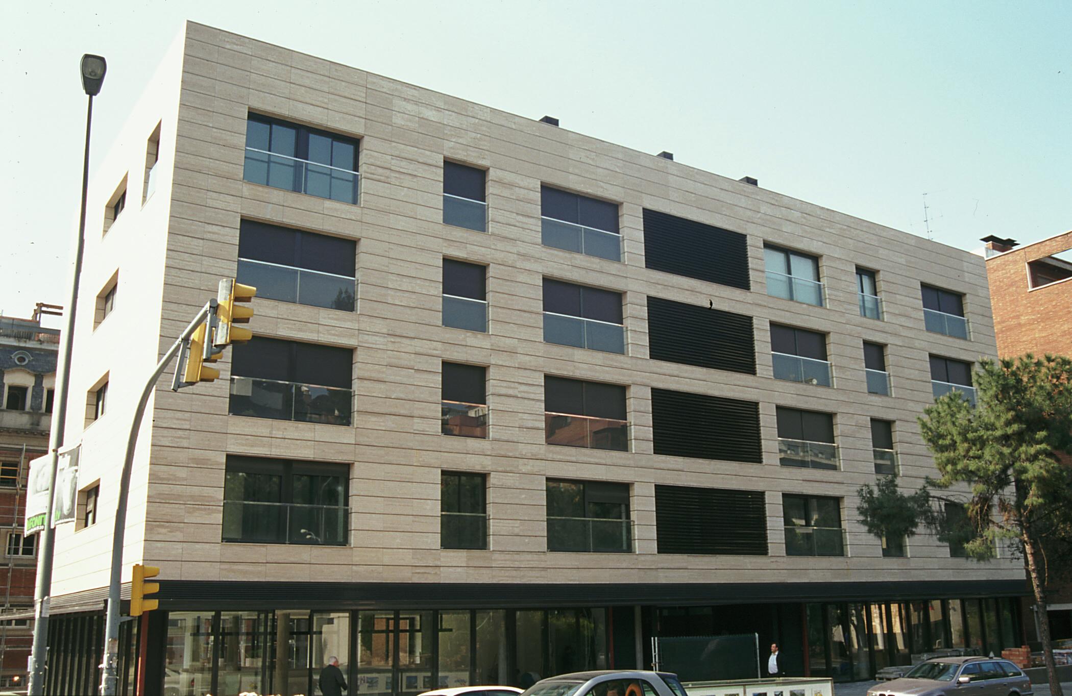 Rehabilitación de fachadas - Sistema Masa