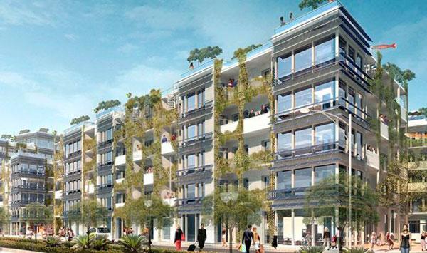 revestimiento de las fachadas passivhaus