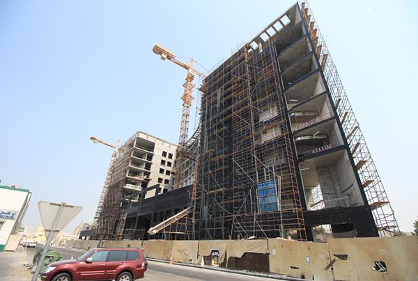 fachadas ventiladas de sistema masa hotel dusit qatar