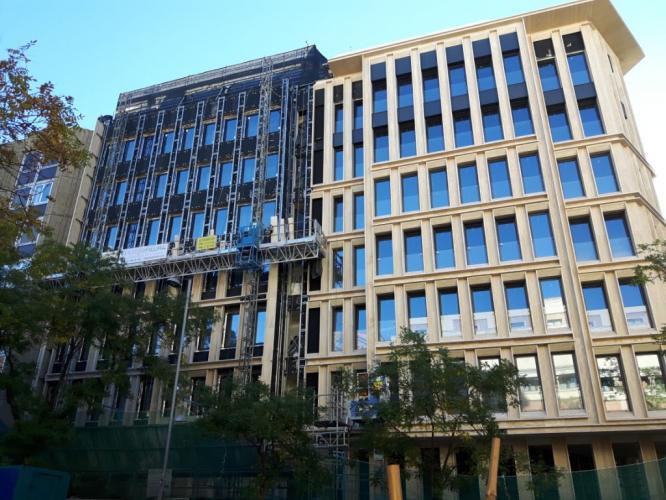 rehabilitación de fachadas ventiladas
