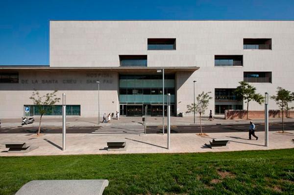 eficiencia energética en hospitales Sant Pau Barcelona
