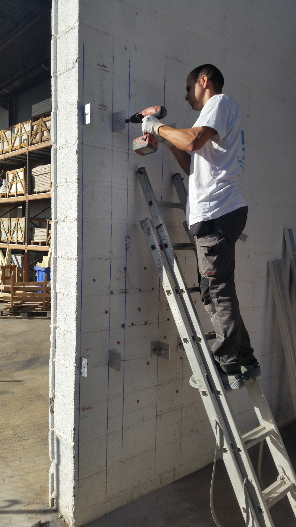 Formación sistemas sujeción fachadas ventiladas