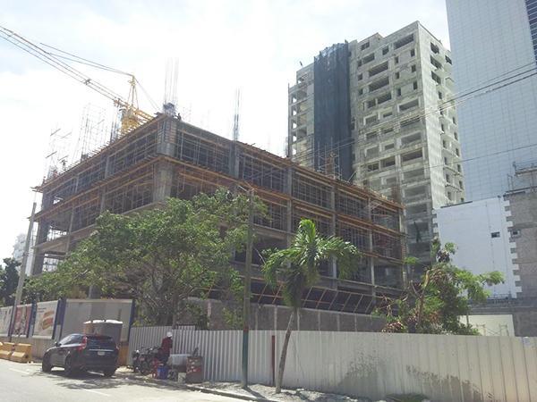 proceso de instalación de las fachadas