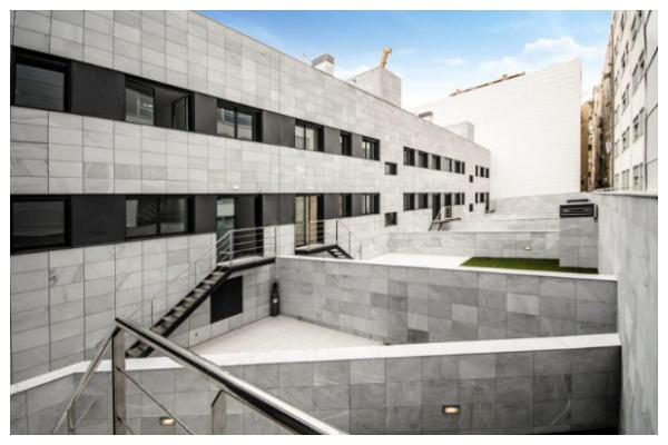 Proyectos de fachadas ventiladas de sistema masa en barcelona