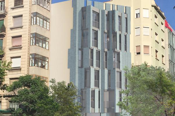 fachadas ventiladas centro barcelona