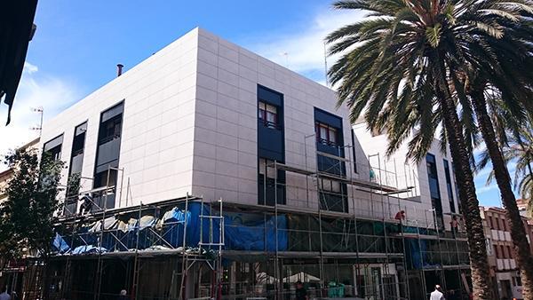 rehabilitación de edificios y fachadas