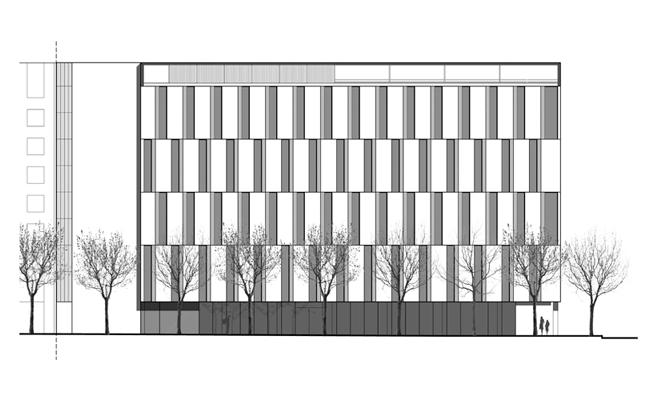 hotel con fachadas ventiladas