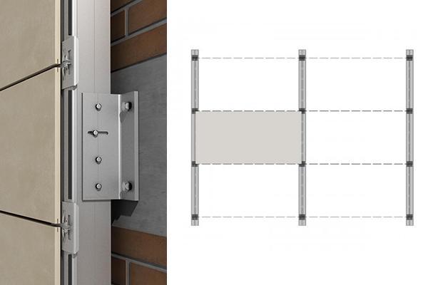 sistema de sujecion de fachadas ventiladas
