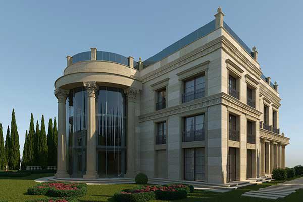 revestimiento para fachada viviendas barcelona
