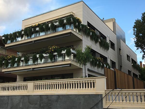 viviendas con fachadas ventiladas en barcelona
