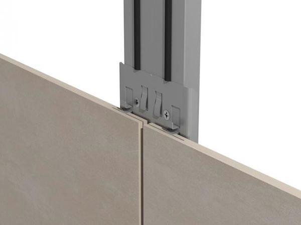 anclaje fachadas ventiladas basic tile sistema masa