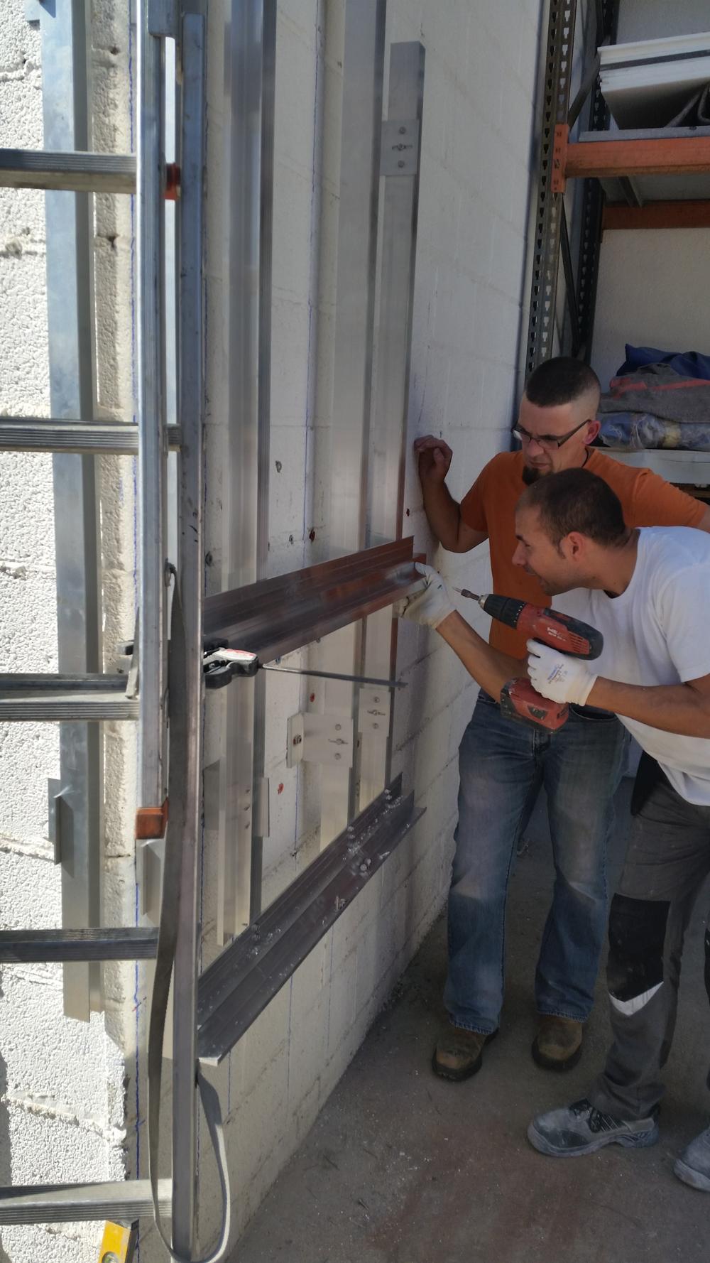 Training Sistema Masa fachadas ventiladas