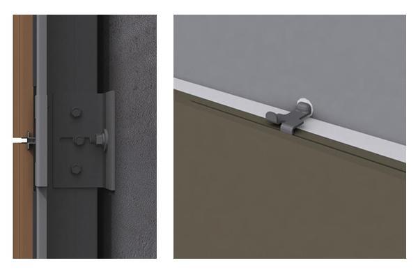 sistemas de sujeción para fachadas ventiladas