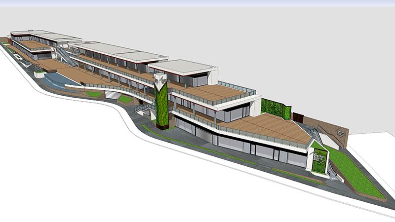 Proyecto Canarias fachada ventilada - Sistema Masa
