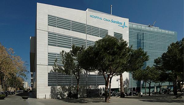 Facade S Rehabilitation Of The Cima Sanitas Hospital