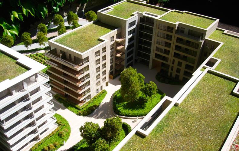 Proyecto fachadas ventiladas con revestimiento piedra