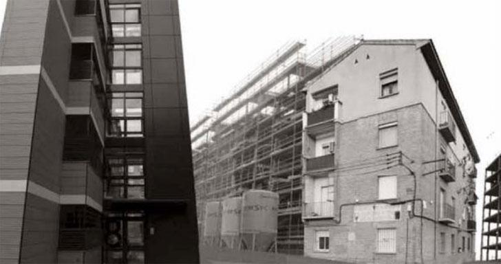 fachadas ventiladas para la rehabilitación