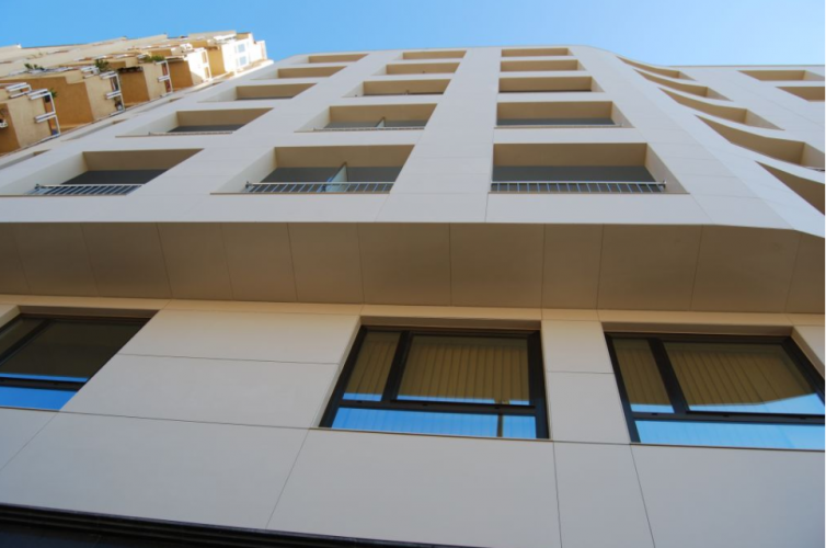 fachadas ventiladas en una rehabilitación