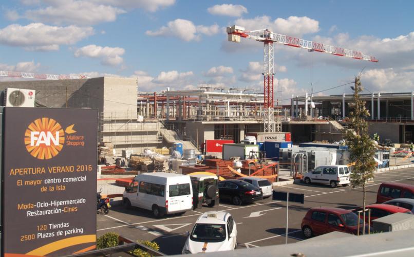 Sistema Masa construye un centro comercial en Mallorca