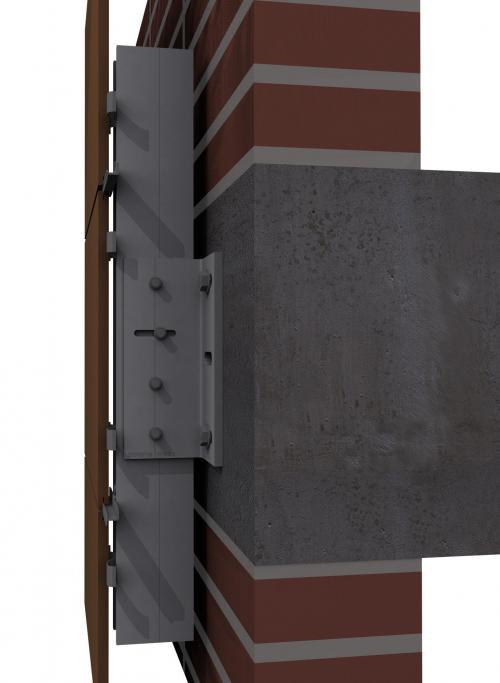 Sistemas con sub-estrcutura de fachadas ventiladas - Sistema Masa