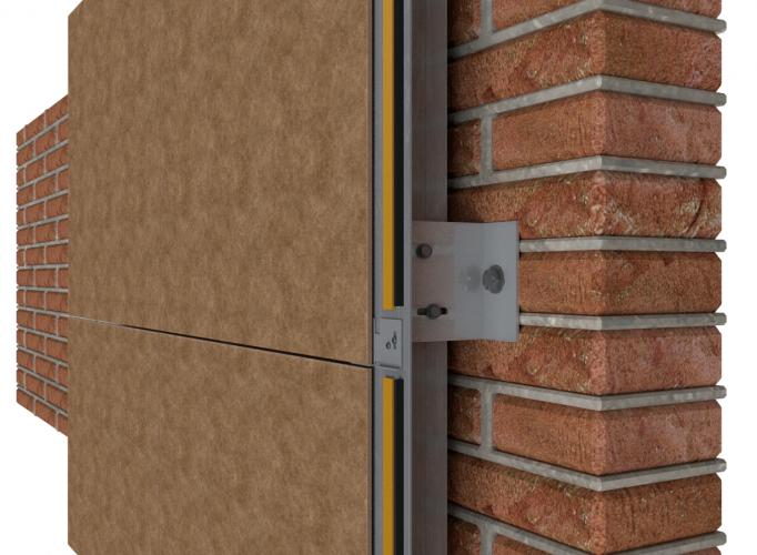 Sistema Basic Slim para fachadas ventiladas - Sistema Masa