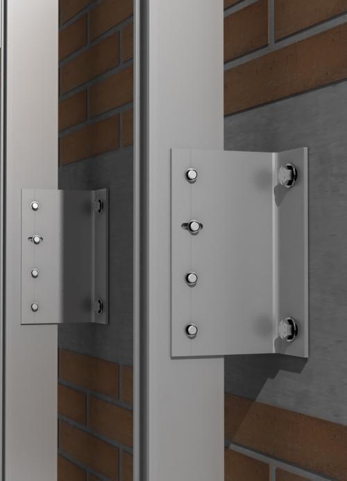 Perfileria Premium para fachadas ventiladas - Sistema Masa