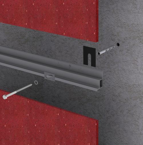 Sistemas de anclajes directos para fachadas ventiladas - Sistema Masa