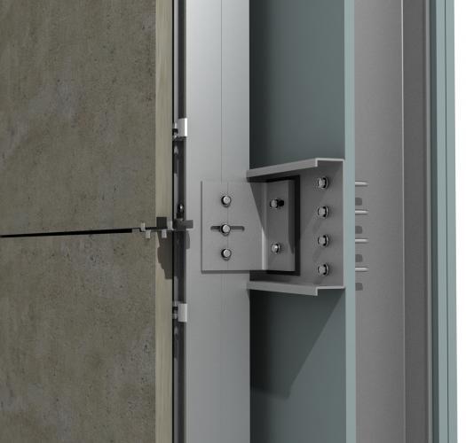 Solución para fachadas ventiladas Sistema Masa PF-ALU/CER CANAL