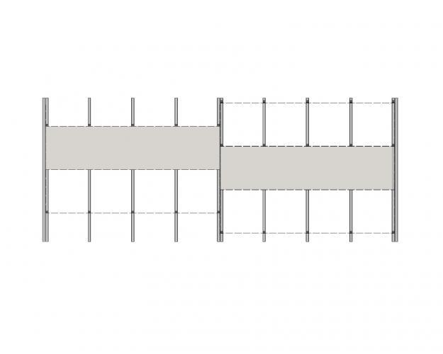 anclaje para fachadas ventiladas sistema masa PF-ALT/SO-S esquema continuo