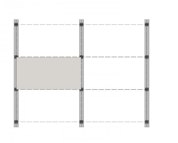 Solución para fachadas ventiladas Sistema Masa PF-AL-T.SV EN JUNTA