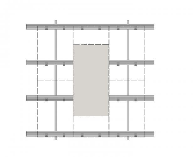 Solución para fachadas ventiladas Sistema Masa PF-ALU.HRT-ESQUEMA2
