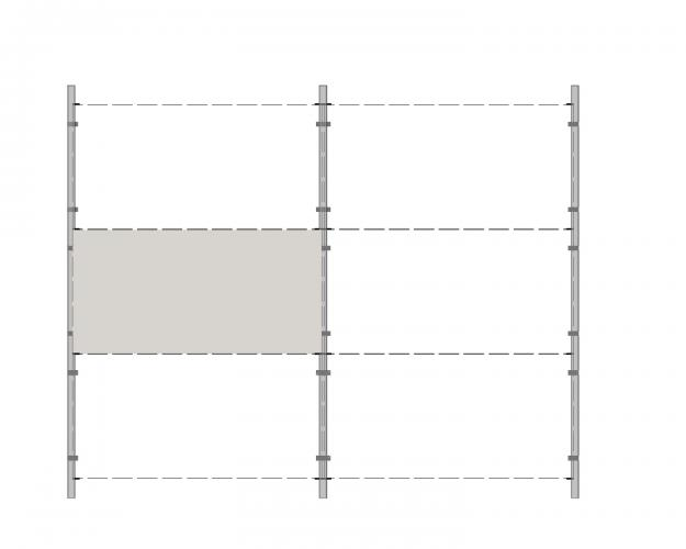 Solución para fachadas ventiladas Sistema Masa PF-ALU-CER-GRAPA.100
