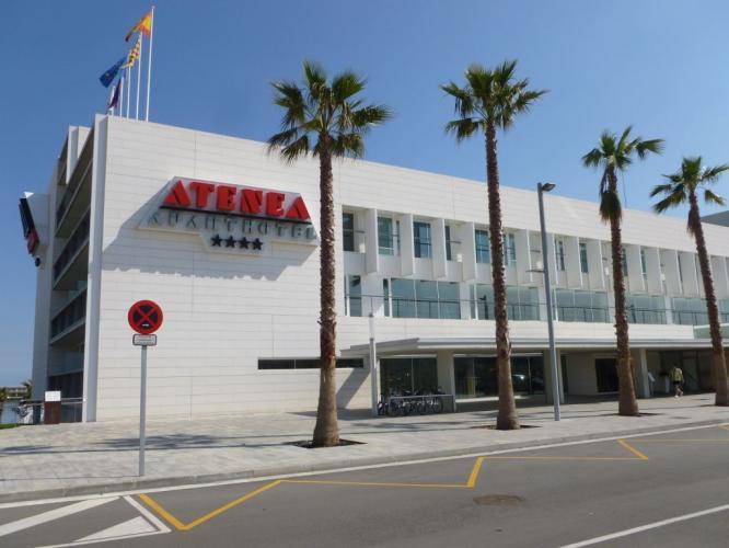 Hotel Atenea Port con sistema de fachada ventilada · Sistema Masa