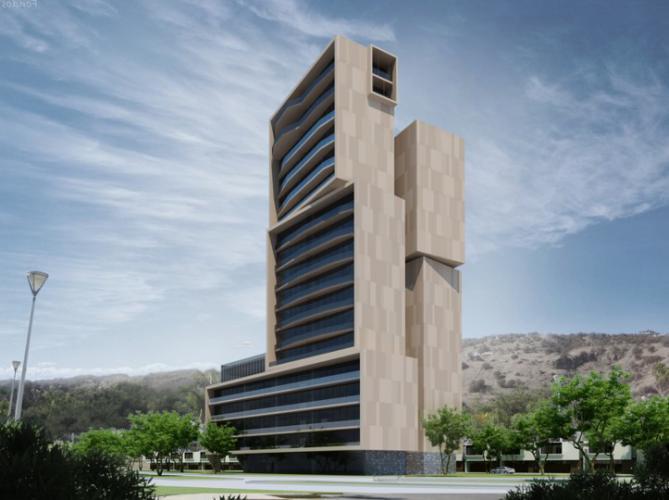 Edificio Hispania con fachada ventilada · Sistema Masa