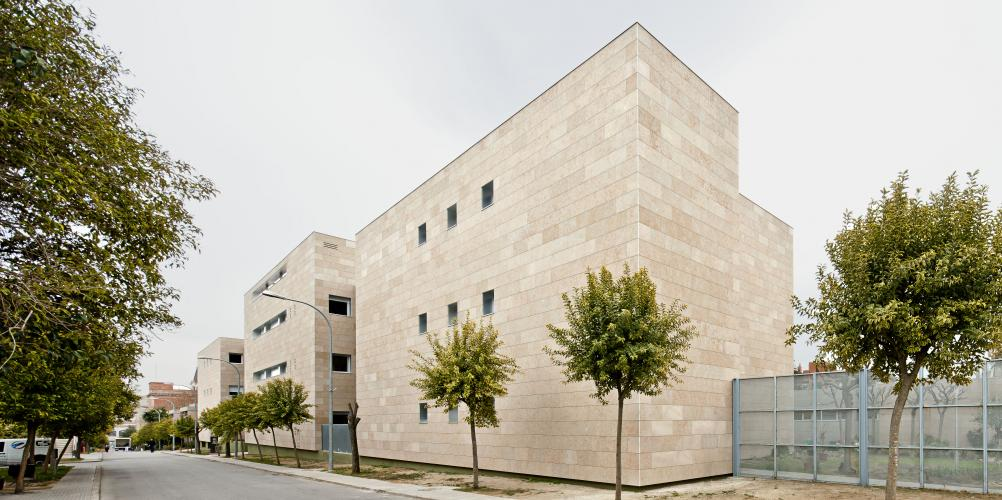 Fachada ventilada - Sistema Masa - Hospital Sant Joan de Deu