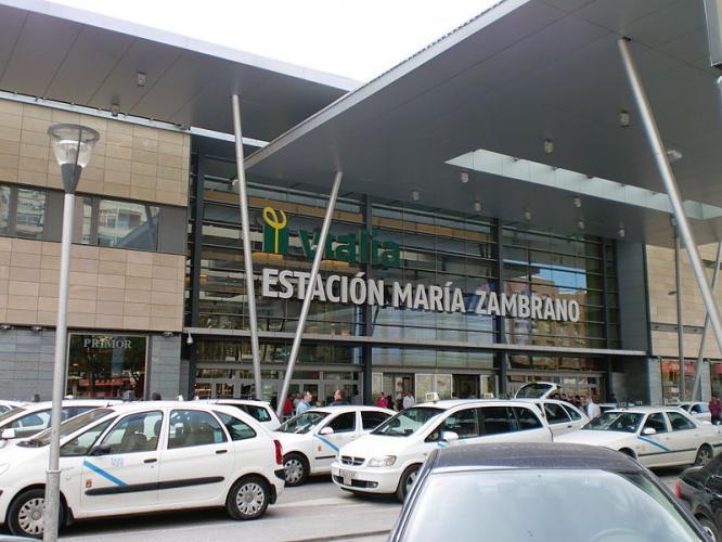 Stazione di Malaga María Zambrano