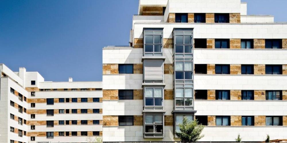 Revestimiento de fachada ventilada de Sistema Masa.