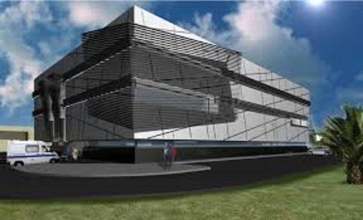 Hospital da Horta E.P.E. con fachadas ventiladas - Sistema Masa