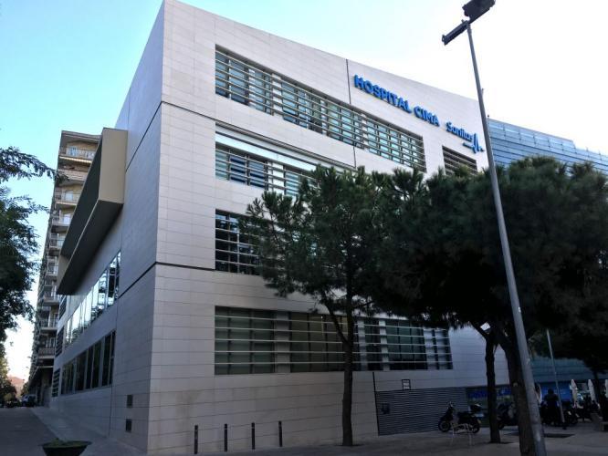 Hospital CIMA con sistema de fachada ventilada · Sistema Masa