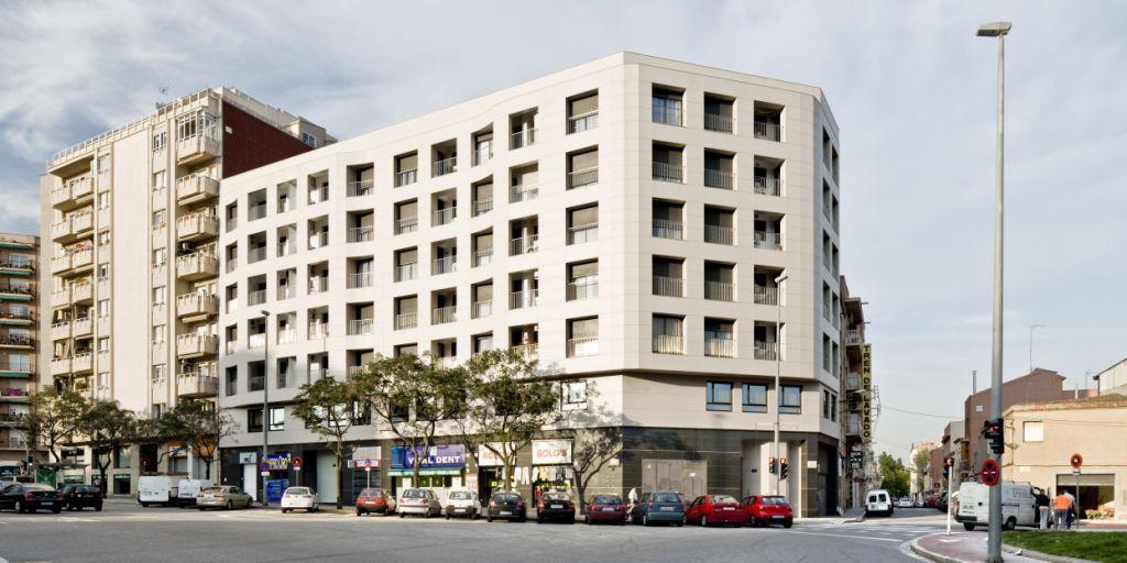 fachadas ventiladas - sistema masa - rehabilitación de viviendas en Sabadell