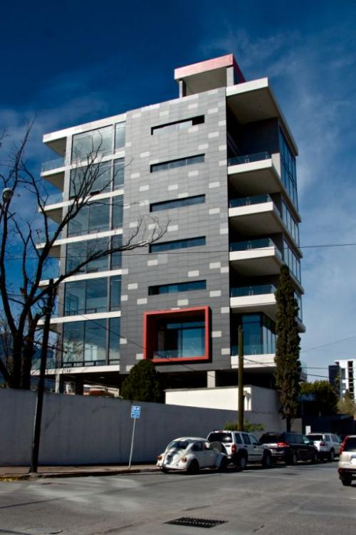fachadas ventiladas - Sistema Masa - Edificio rio de la plata