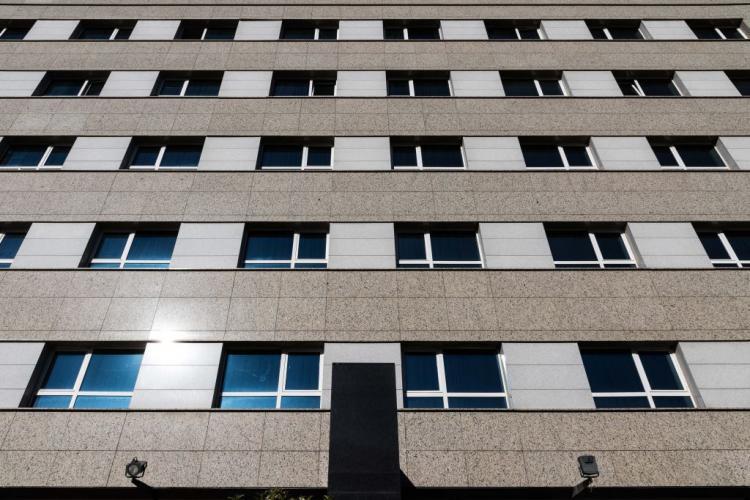 Hotel Pio XII con sistema de fachada ventilada · Sistema Masa