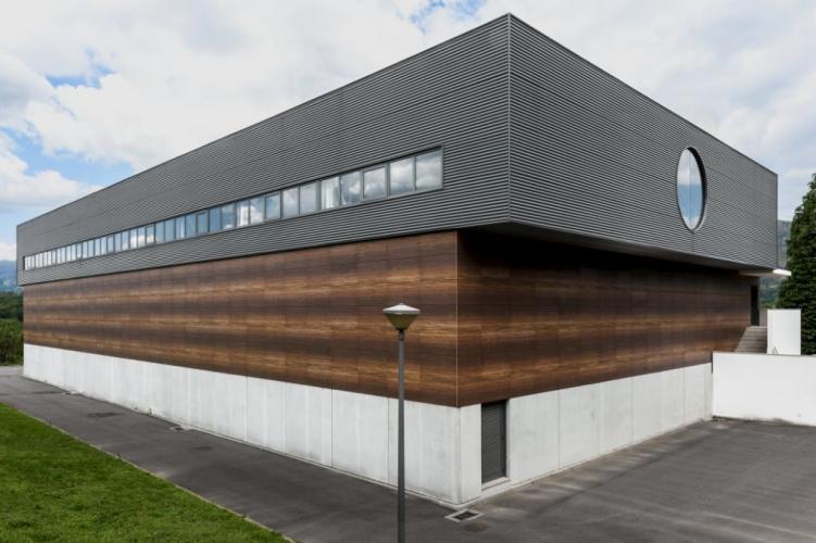achadas ventiladas - Sistema Masa - Pabellón deportivo arcos de valadez