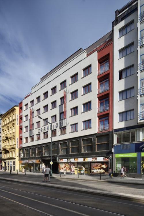 ventilated facades Hotel U hajku