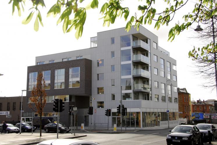 Revestimiento de fachada - Sistema Masa - Blackhall Place