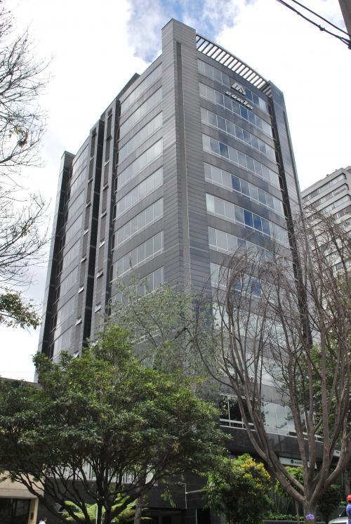 Fachadas ventiladas de Sistema Masa. Torre siete colombia